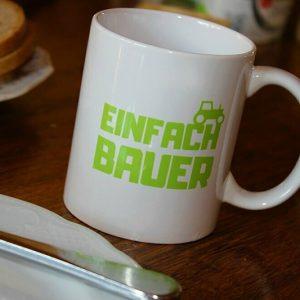 Die Einfach Bauer Tasse