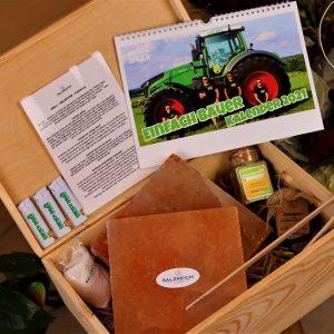Die Einfach Bauer Grillsalzsteinbox